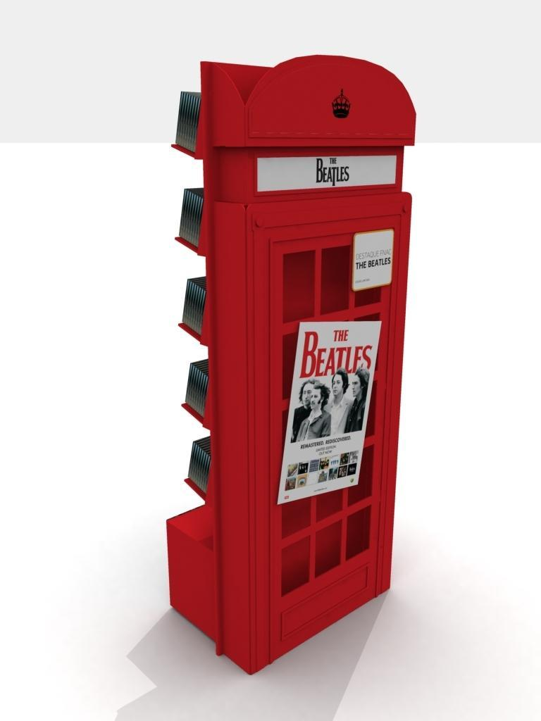 Expositor Beatles PVC