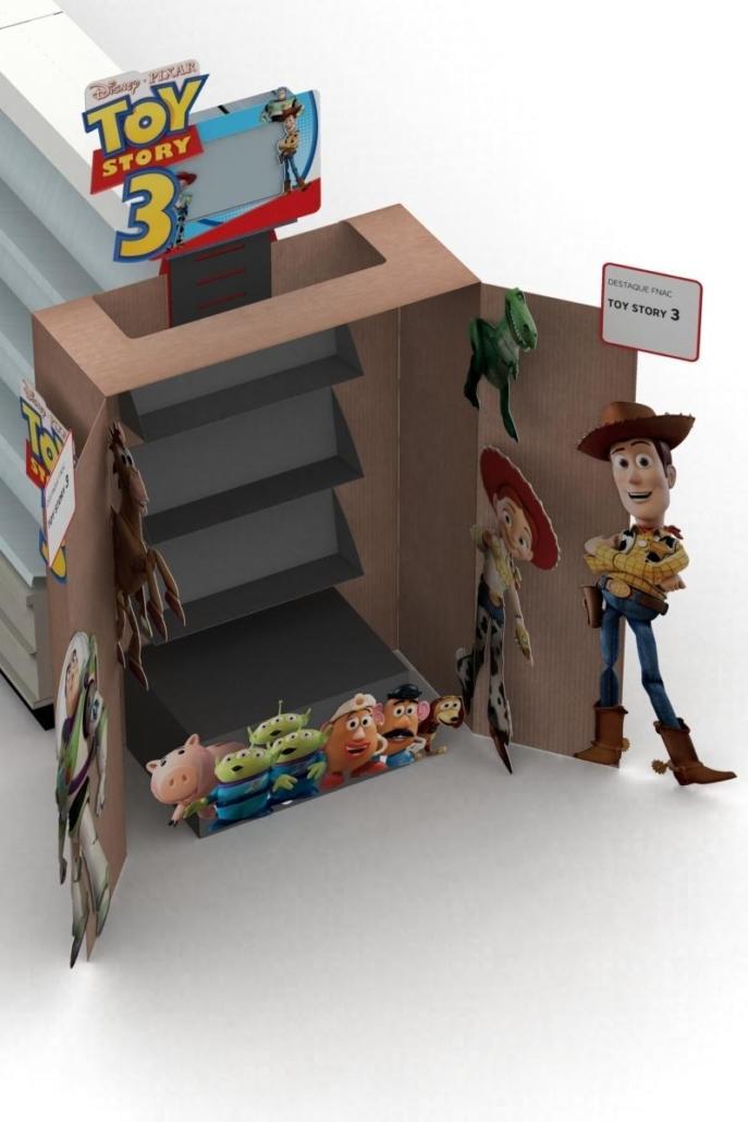 Topo de ilha Toy Story